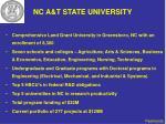nc a t state university