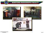 munitions radiography facility