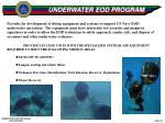 underwater eod program