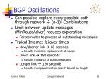 bgp oscillations