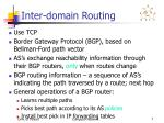 inter domain routing1