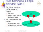 multi homing to a single provider case 3
