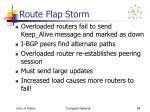 route flap storm