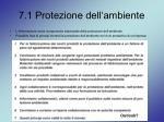 7 1 protezione dell ambiente