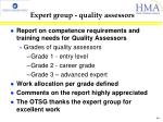 expert group quality assessors4