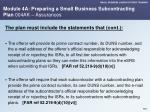 module 4a preparing a small business subcontracting plan 004ak assurances