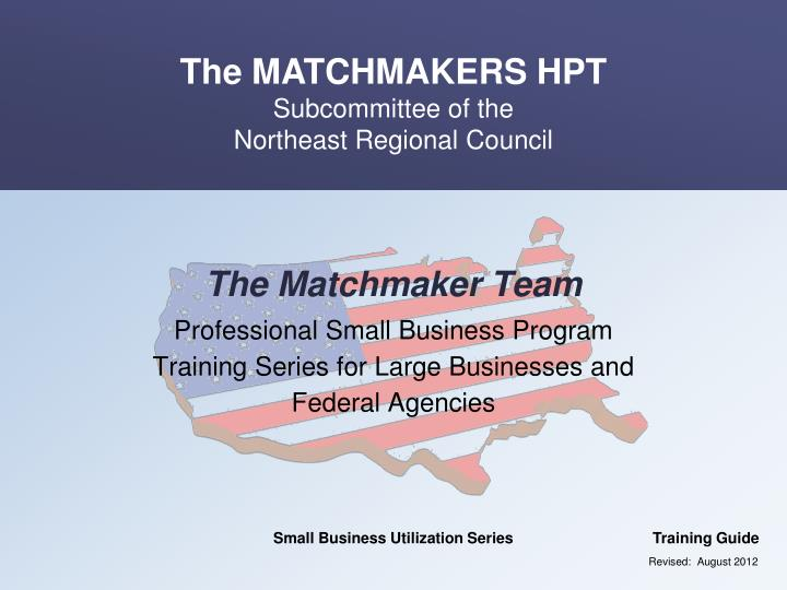 the matchmaker team n.
