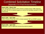 combined solicitation timeline appendix h in final announcement2