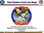 fleet weather center san diego
