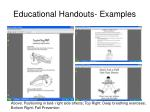 educational handouts examples