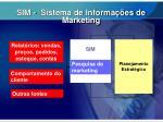 sim sistema de informa es de marketing