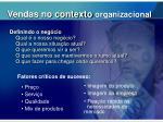 vendas no contexto organizacional1