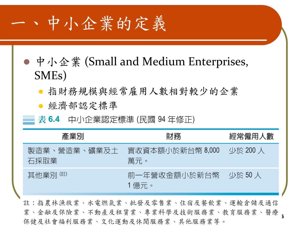 企業 定義 中小