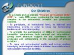 our objetives1