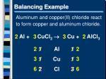 balancing example