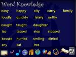 word knowledge 1