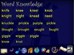 word knowledge 2