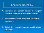 learning check e2