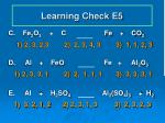learning check e51