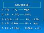 solution e5