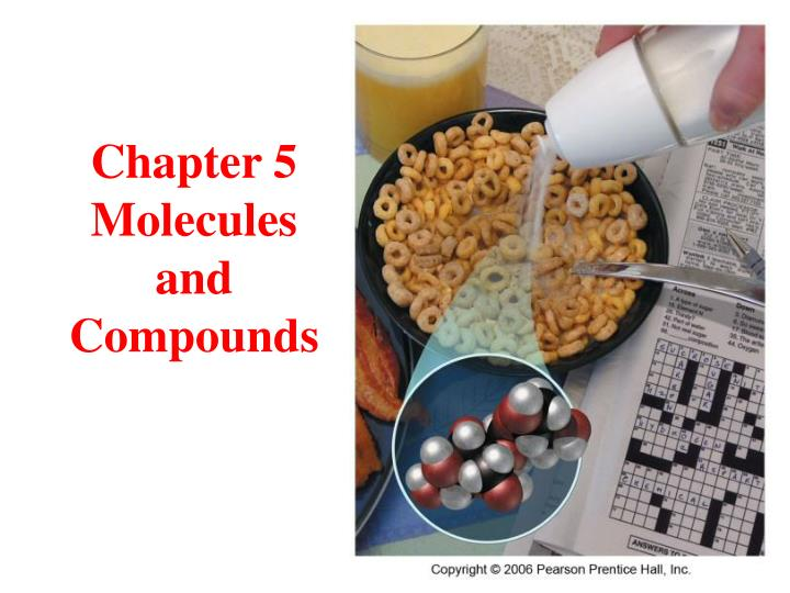 chapter 5 molecules and compounds n.