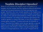 nephite disciples apostles