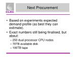 next procurement