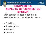 chapter 14 aspects of connected speech