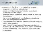 the clarin vision