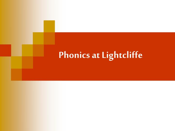 phonics at lightcliffe n.