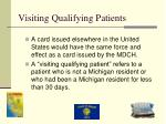 visiting qualifying patients