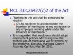 mcl 333 26427 c 2 of the act