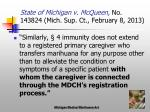 state of michigan v mcqueen no 143824 mich sup ct february 8 20135