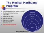 the medical marihuana program
