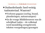 geschiedenis van het nederlands oudnederlands17