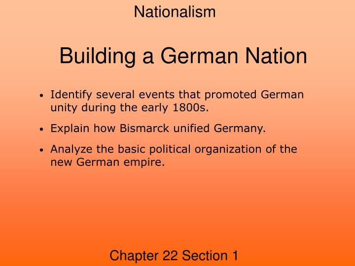 building a german nation n.