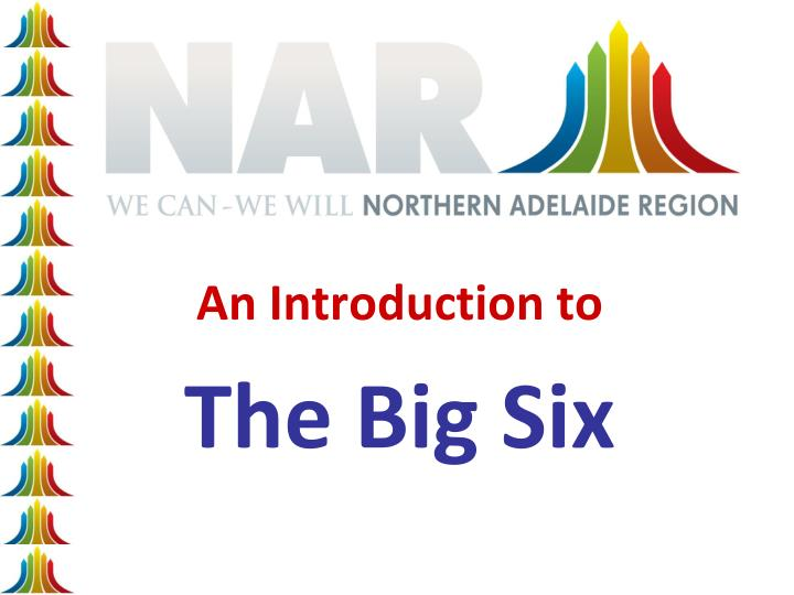 an introduction to the big six n.