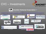 columbia ventures corporation