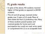 fl grade results