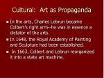 cultural art as propaganda1