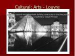cultural arts louvre