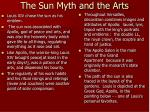 the sun myth and the arts
