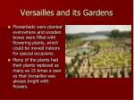 versailles and its gardens1
