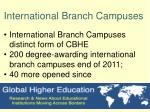 international branch campuses