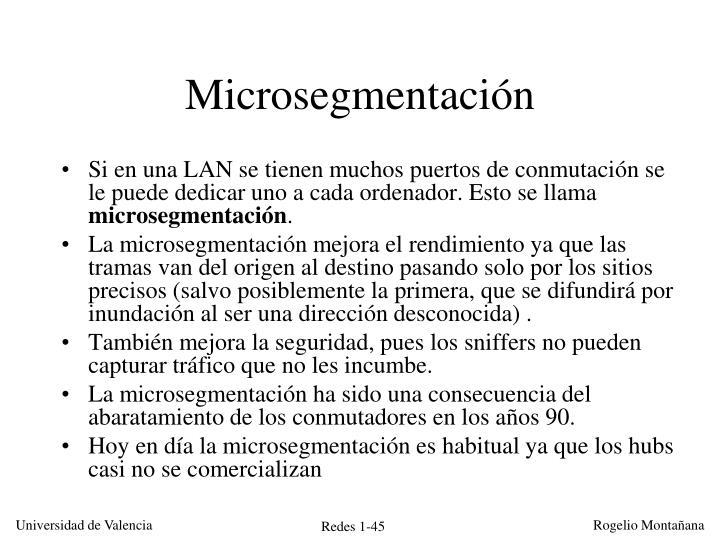 Microsegmentación