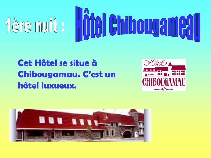 Hôtel Chibougameau