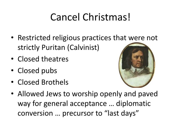 Cancel Christmas!