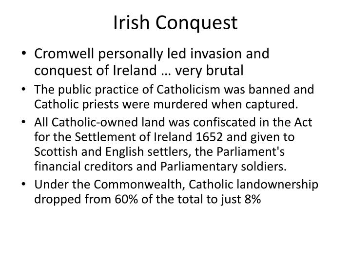 Irish Conquest