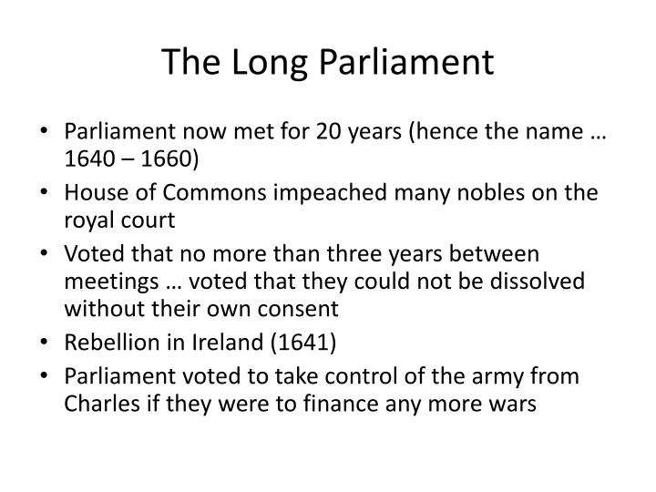 The Long Parliament