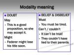 modality meaning3